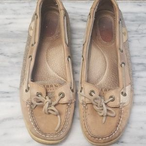 Sperry Topsider Slip On Boat Shoes Size 8.5